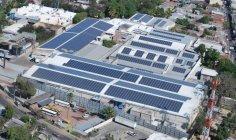 HILCASA社 紡績工場に設置されたパナソニック太陽光パネル