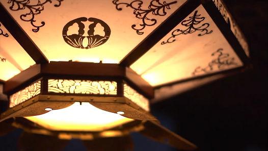 清水寺に灯るLEDのあかり