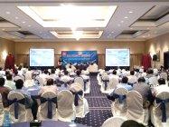 中東でのプレミアム・シーリングファン発表会の様子