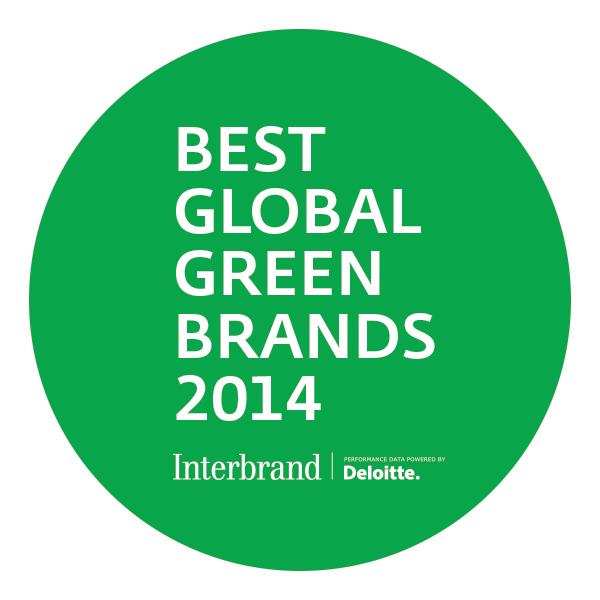 グリーンブランドランキング2014でパナソニックが5位、エレクトロニクスで1位維持