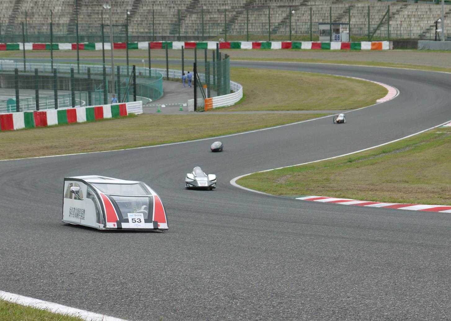 「マイナビ Ene-1 GP SUZUKA 2014」 KV-40チャレンジの様子