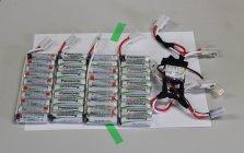 単3形の「充電式エボルタ」40本で鈴鹿サーキットを疾走