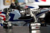 スーパーバイク Pata Hondaチームに採用されたパナソニックのプロ用電動工具