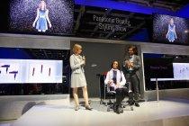 欧州で著名なヘアサロン「TONI&GUY」とタイアップしたヘアスタイリングデモ