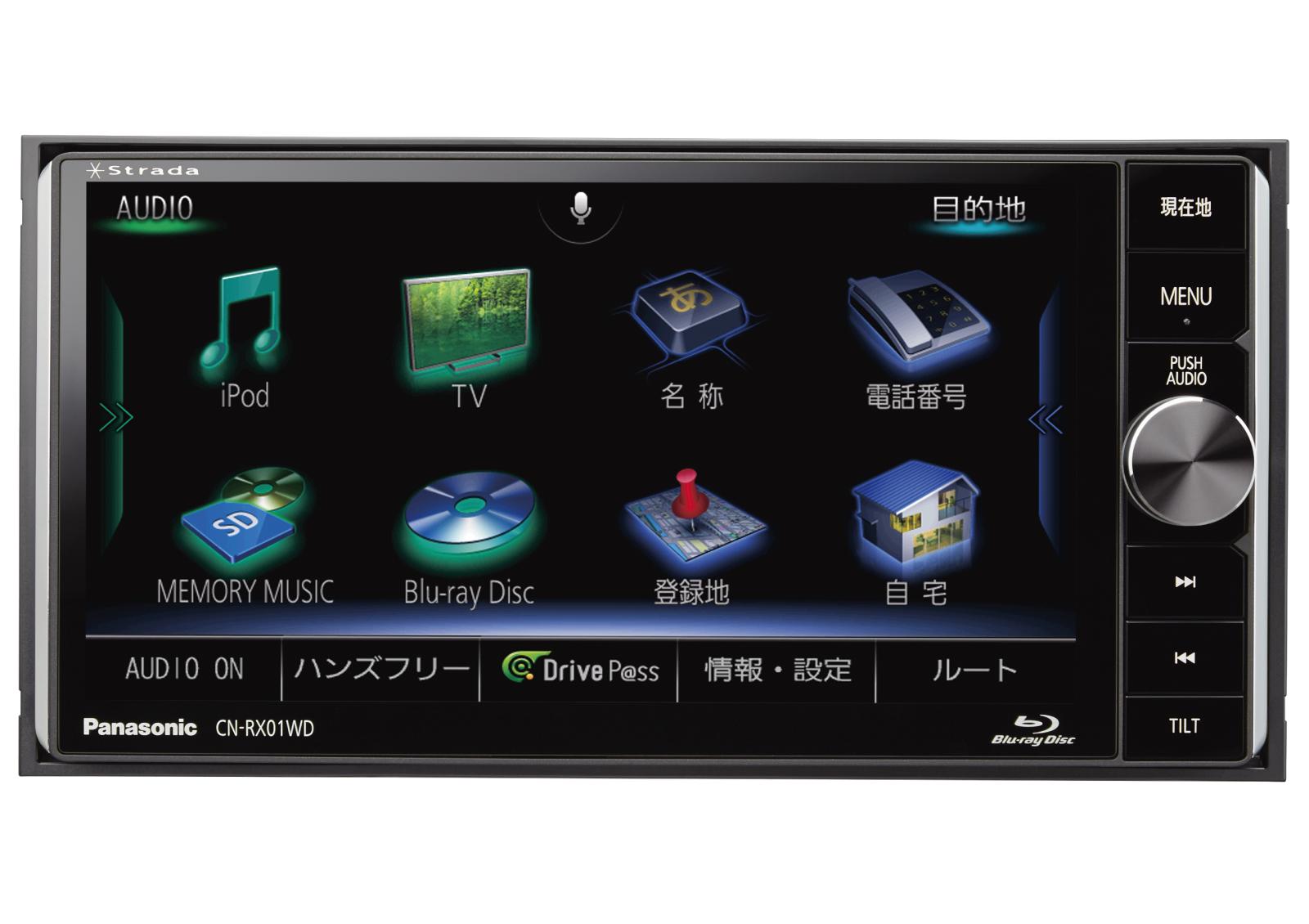 ストラーダ 美優Navi CN-RX01WD