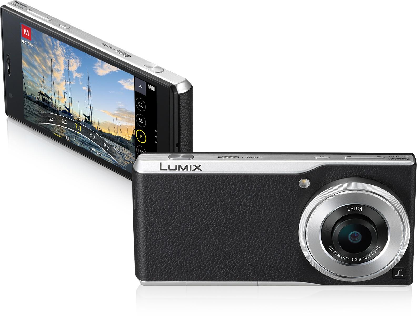 世界最薄1.0型センサー&LTE搭載 4Kデジタルカメラ「LUMIX CM1」を開発
