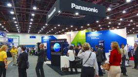 ITS世界会議デトロイト2014のパナソニックブース