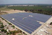 カリフォルニア州トゥーレアリ郡ファーマーズビルにある太陽光発電所