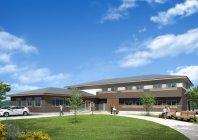 グランドテクノビームを使用することで、大型の非住宅などで自由度の高い設計が可能に
