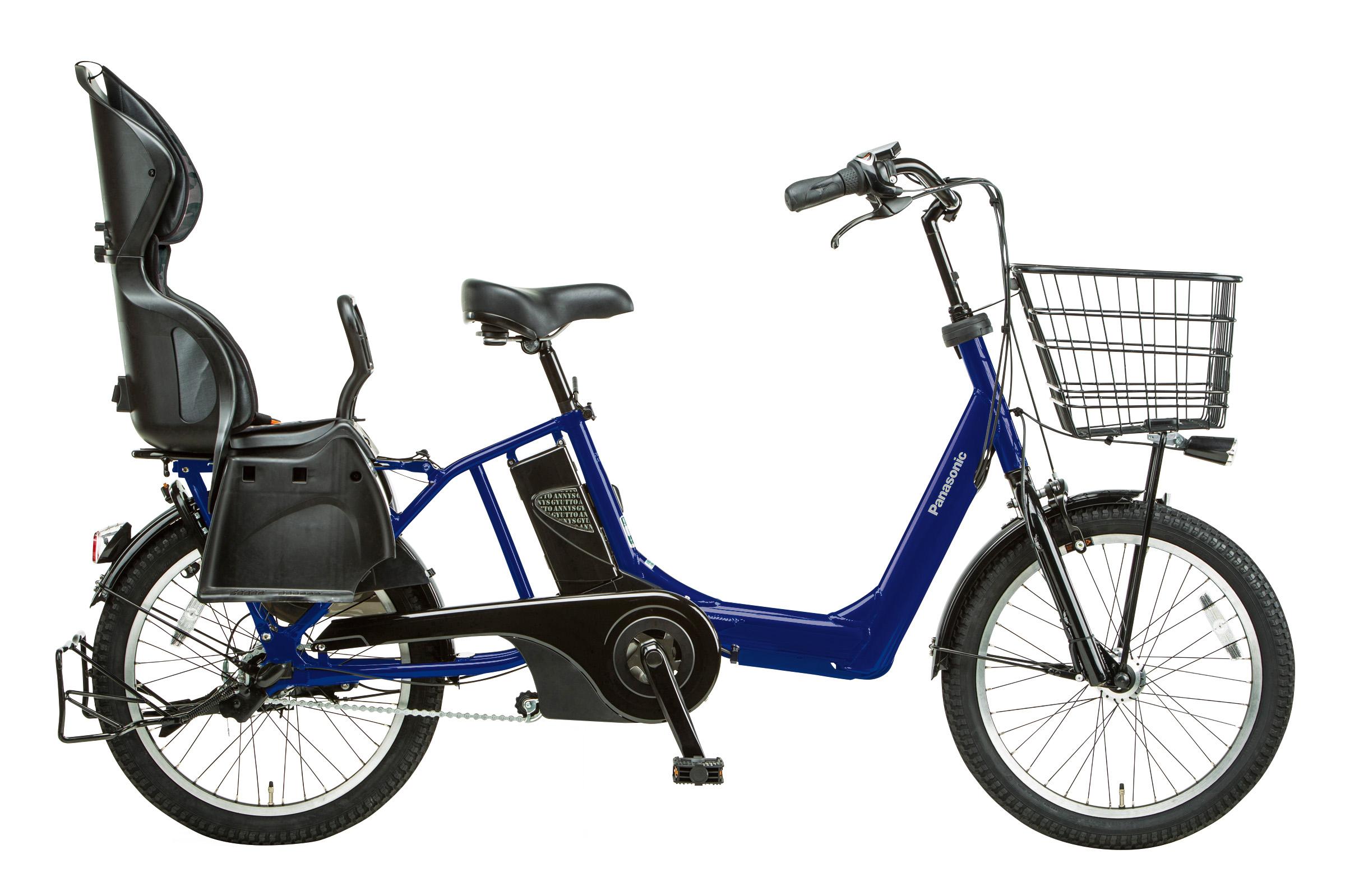 幼児2人同乗対応電動アシスト自転車 「ギュット・アニーズ(BE-ENMA033)」