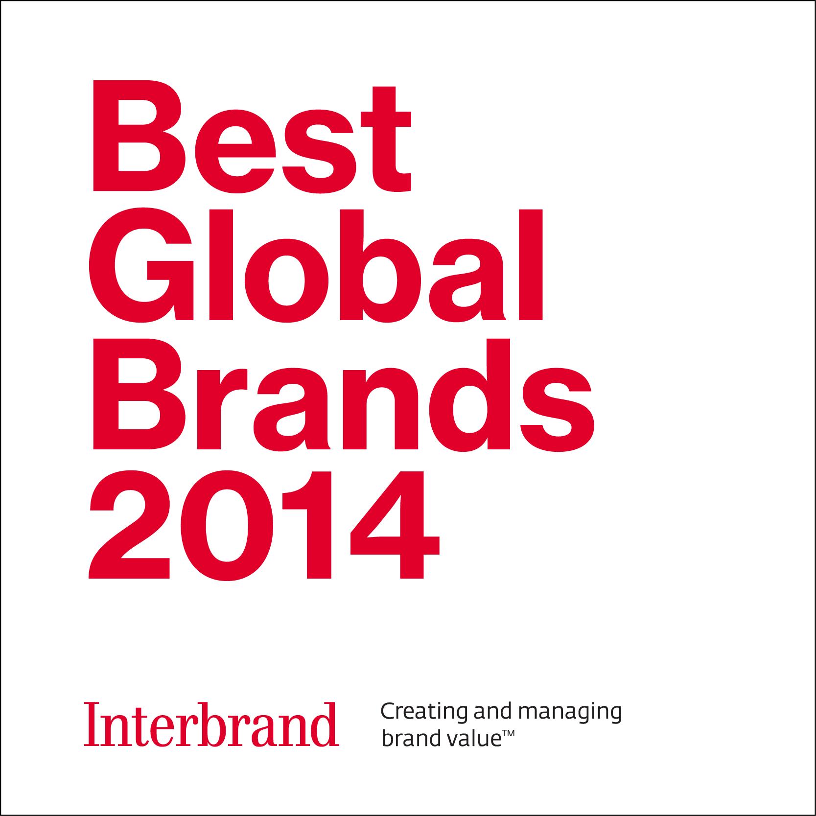 パナソニック、「Best Global Brands 2014」にランクイン