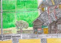 佳作:大井康輝さん(小学6年生)【第9回環境絵画コンクール】