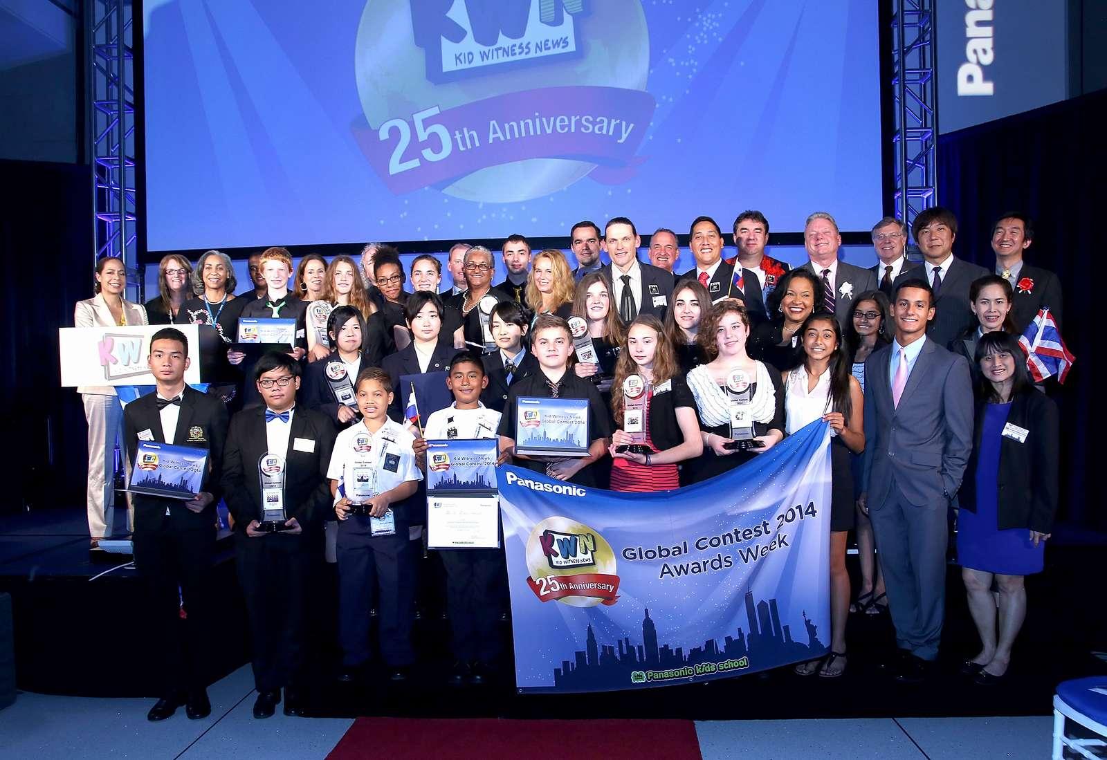 「パナソニックKWNグローバルコンテスト2014」25周年の表彰式をKWN発祥の地アメリカで開催