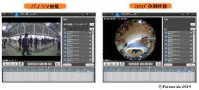 パノラマ映像と360度魚眼映像