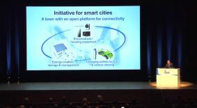 IEC東京大会 基調講演の会場では1,300人以上が聴講した