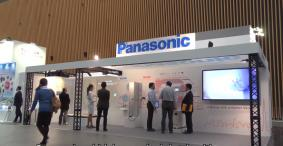 IEC東京大会でのパナソニック技術展示ブース