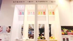 LED照明で場所や時間帯に合わせた色調のコントロールによる売り場演出も可能に