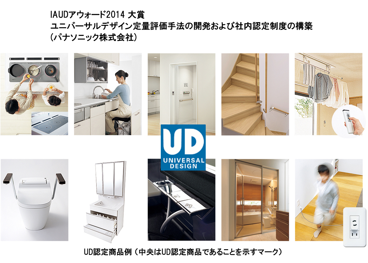 【IAUDアウォード2014 大賞】ユニバーサルデザイン定量評価手法の開発および社内認定制度の構築