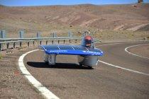 パナソニックから太陽電池モジュールHIT(R)と、高容量のリチウムイオン電池を提供した東海大学のソー