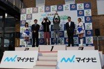 「マイナビ Ene-1 GP MOTEGI 2014」表彰式の様子