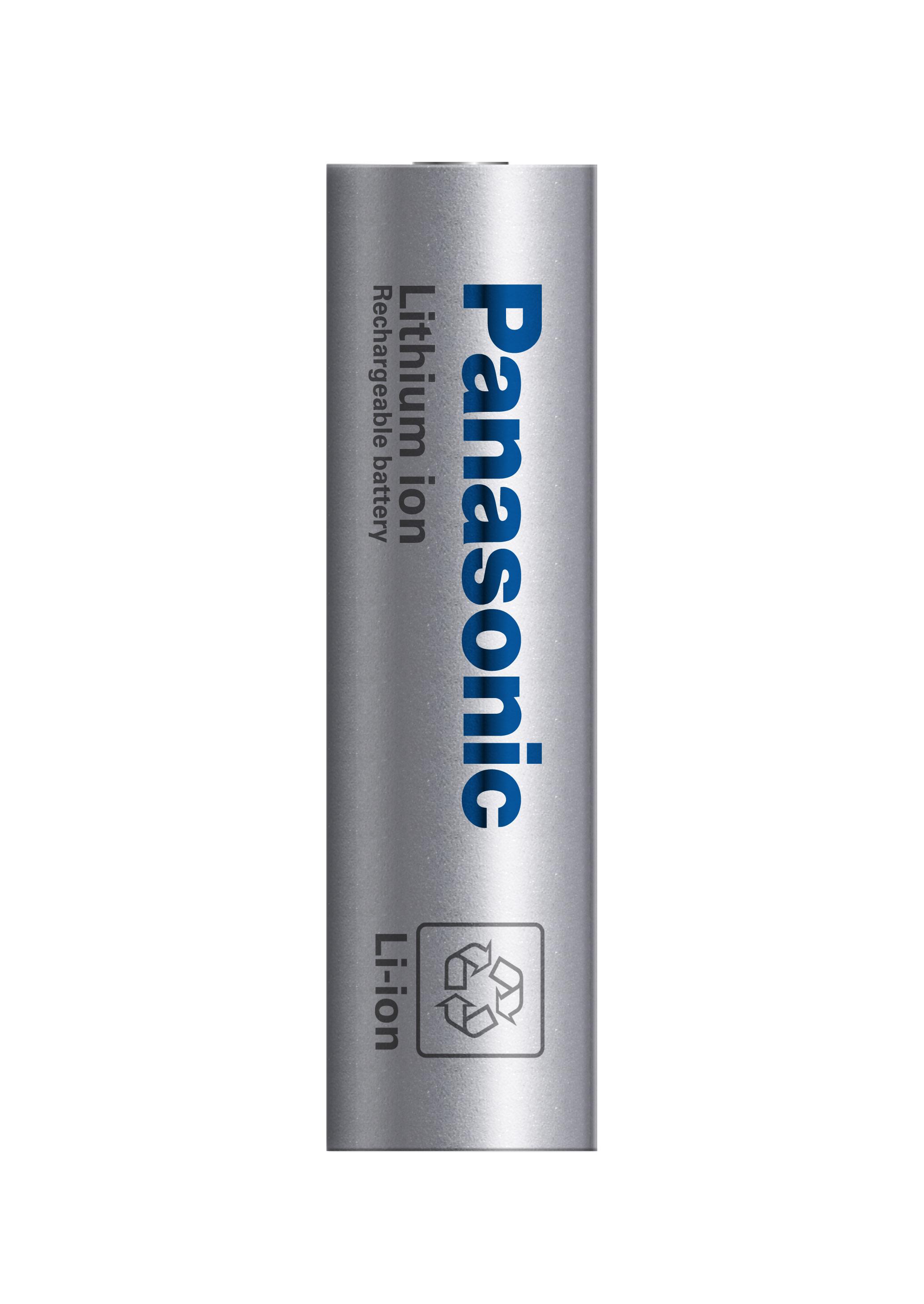 パナソニックのEV向け円筒形高容量リチウムイオン電池