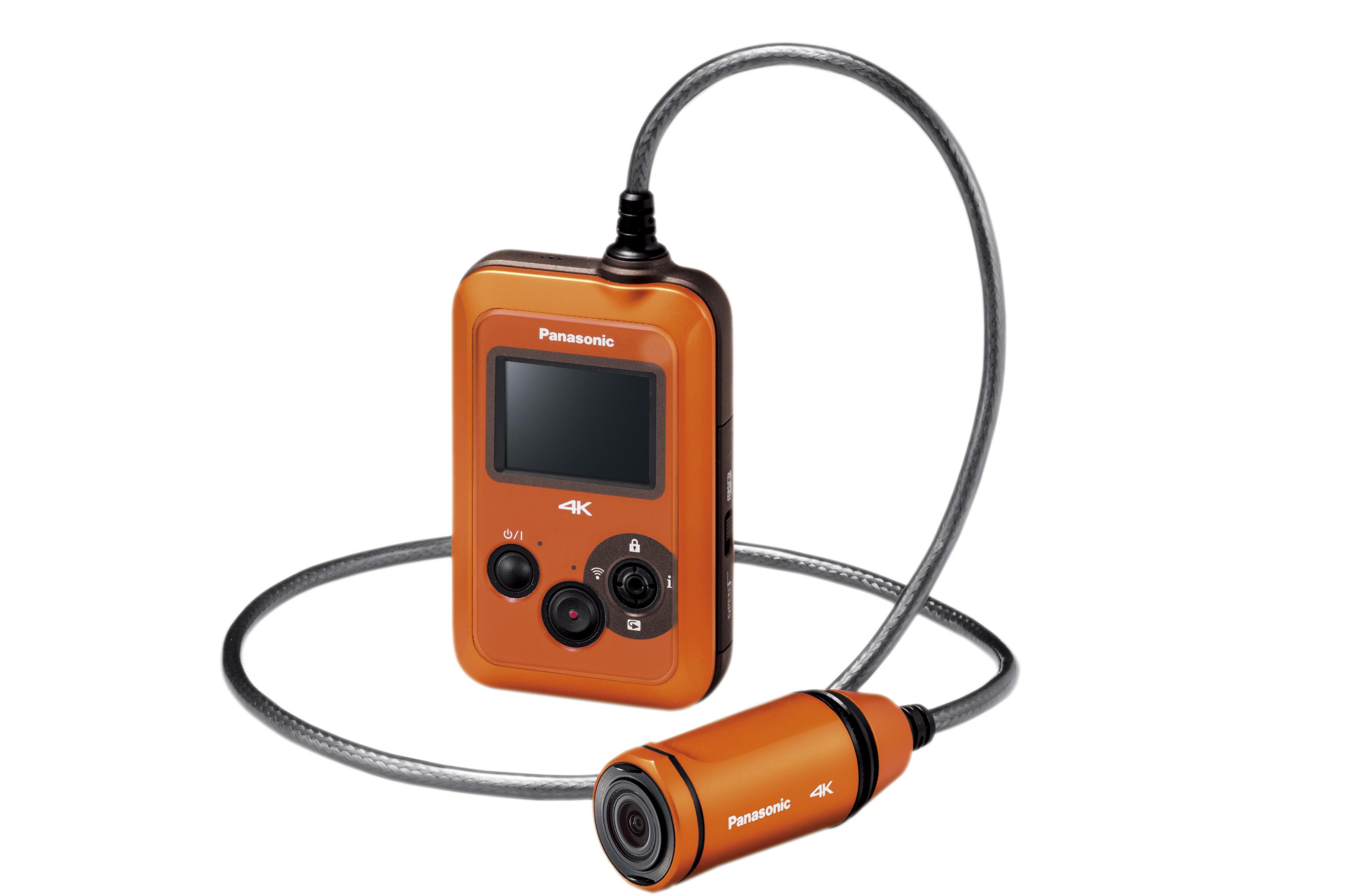 パナソニック ウェアラブルカメラ HX-A500−D