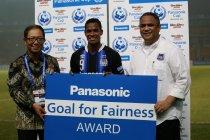 「Goal for Fairness」賞はリンス選手に贈られました。