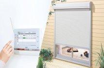 「スマートHEMS(R)」との連携:「電動窓シャッター」操作イメージ