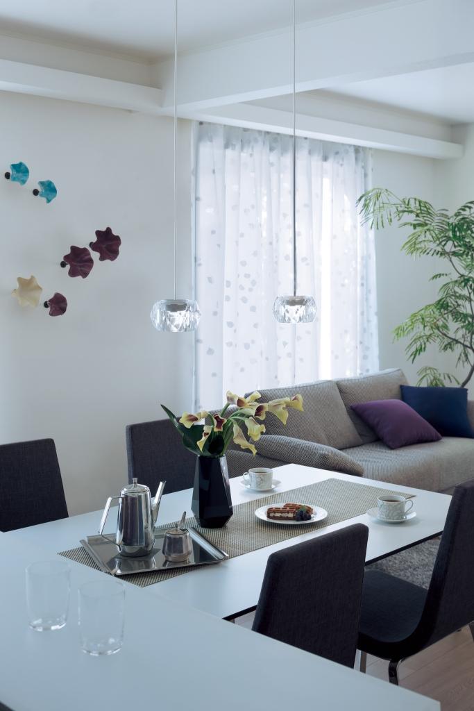 住宅用LED照明器具「美ルック(ミルック)」空間照明イメージ(1)