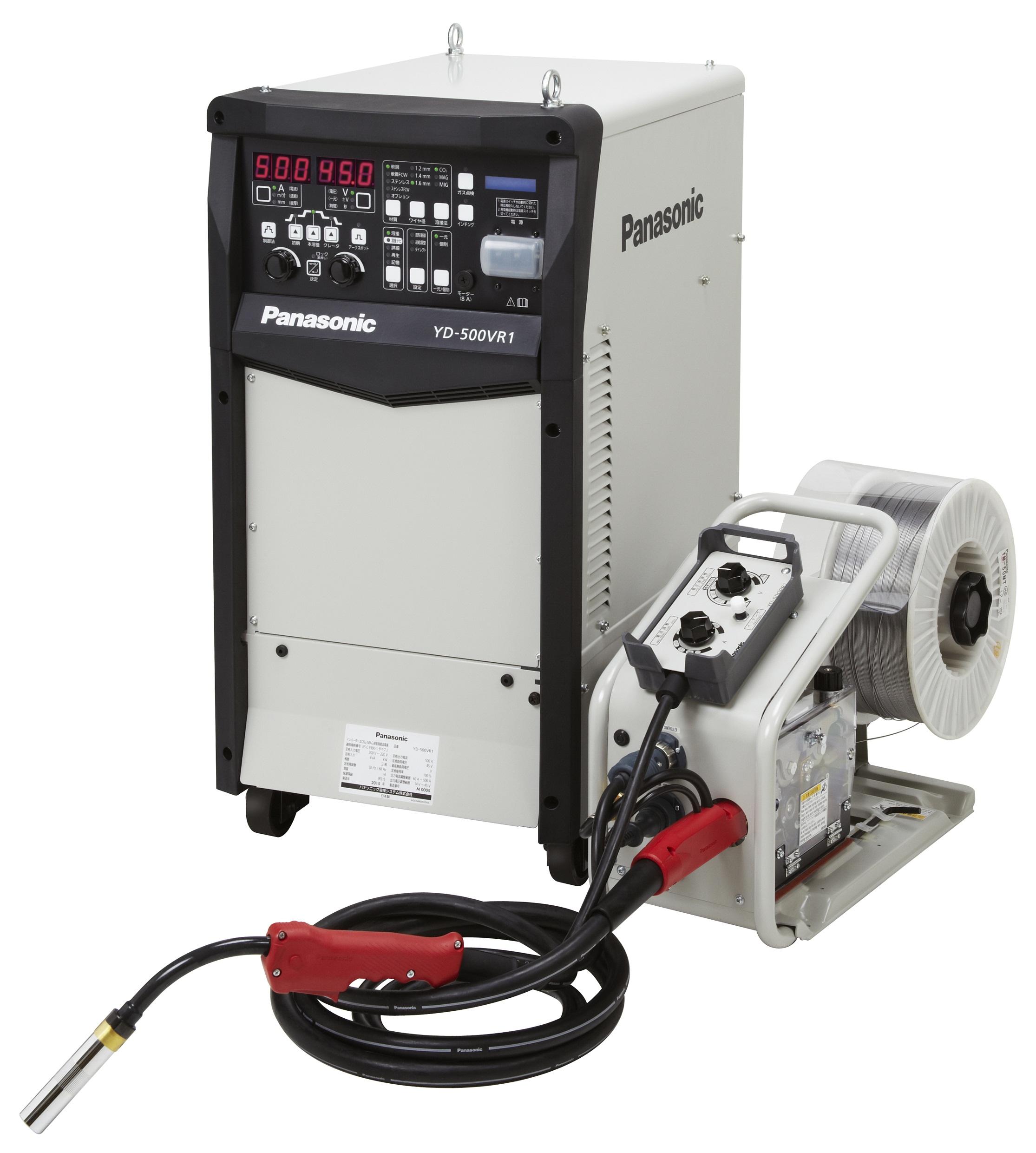 フルデジタル CO2/MAG溶接機 YD-500VR1 発売