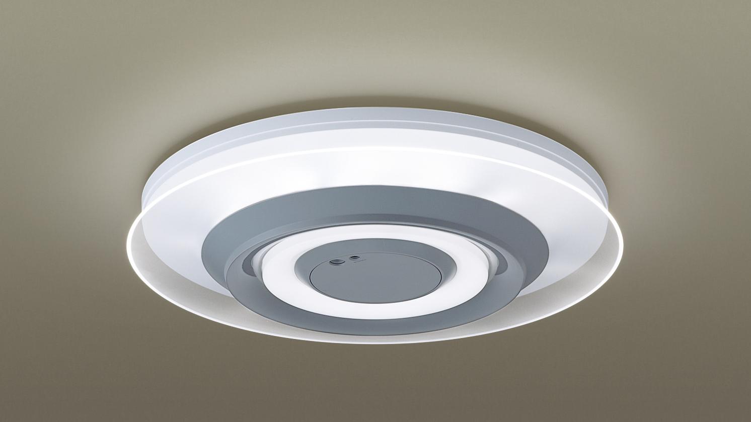 LEDシーリングライト 上下配光タイプ(導光クリアパネルデザイン)