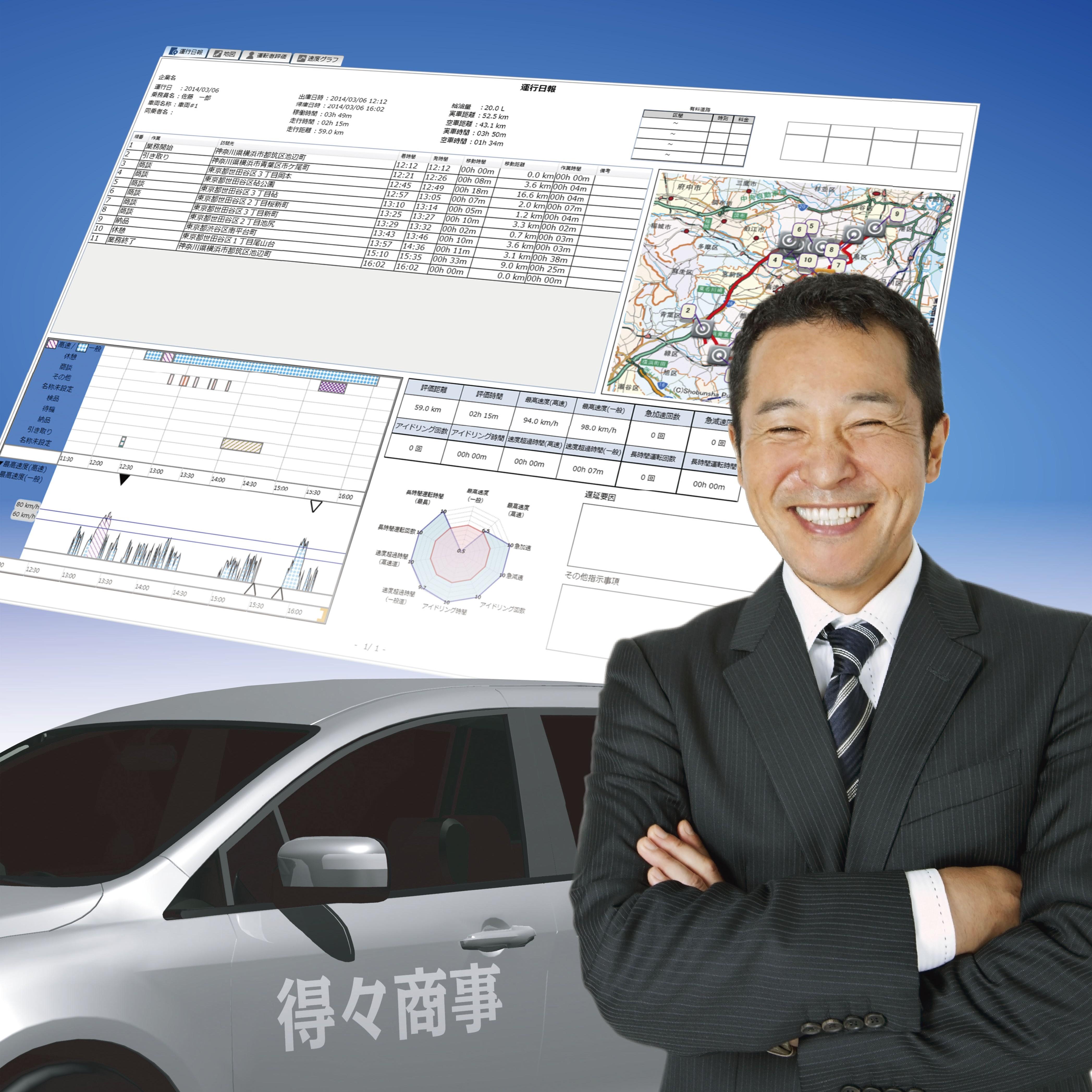 業務用運行管理システム