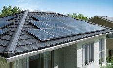 太陽電池モジュール 設置イメージ