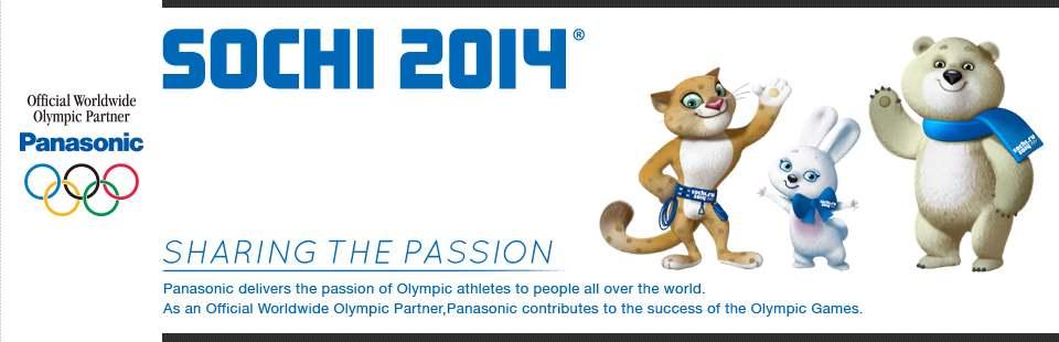 パナソニックは、最新の映像・音響技術でオリンピック活動をサポートします。