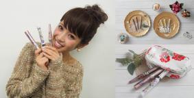 人気モデル くみっきー がデザインプロデュース!パナソニックの美容家電をデコレーション