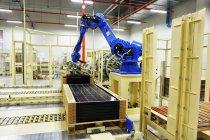 パナソニックのHIT太陽電池工場(マレーシア)工場内