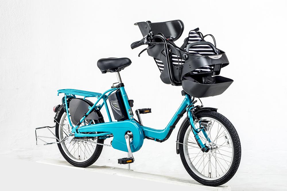パナソニック 夫婦で使える 幼児2人同乗電動アシスト自転車「ギュット・ミニ・DX」