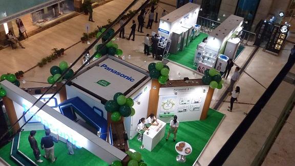 インドでのエコ展示会 'Experience Panasonic'