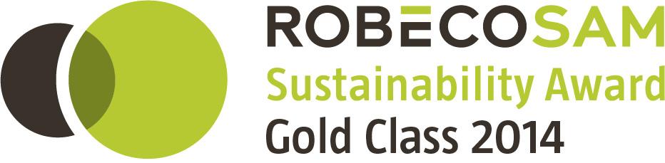 RobecoSAM社のCSR格付け「Gold Class」に選定