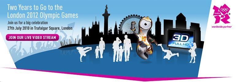 ロンドン・トラファルガー広場で「パナソニック・オリンピック2年前イベント」を開催