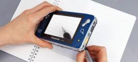 パナソニック携帯型拡大読書器「アクティブビュー」(EJ-VM01NP)