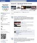 Facebookページ「Panasonic / Worldwide Olympic Partner」