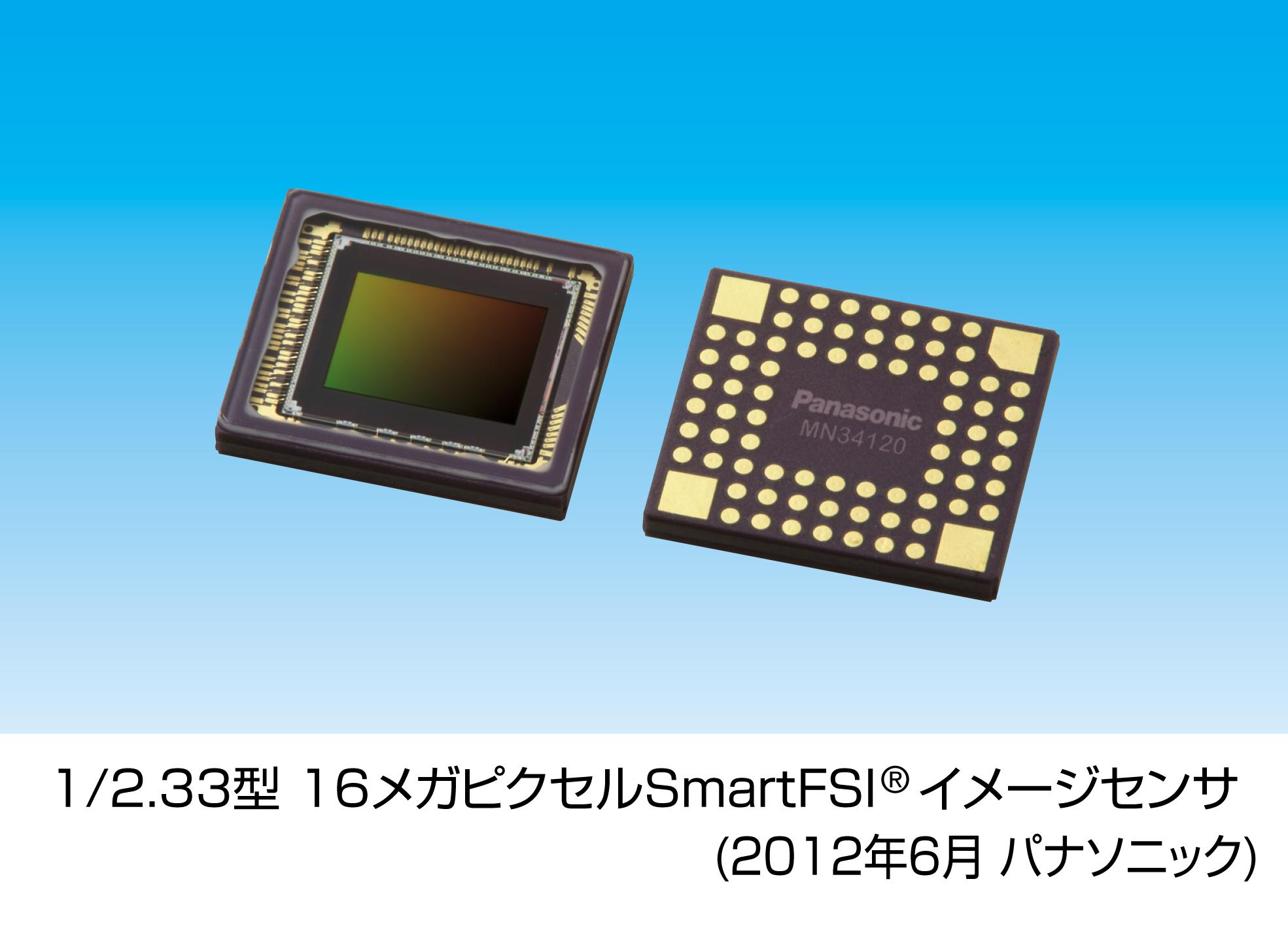 1/2.33型 16メガピクセルSmartFSIイメージセンサ