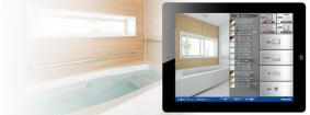 パナソニックのリフォームシミュレーションアプリ「20歳のリフォーム バスルーム3D」