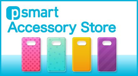 パナソニック製スマートフォン向けのアクセサリー「Psmart Accessory Store」