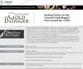 Gold Blogger募集中!