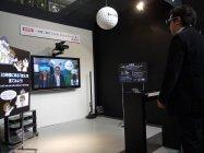パナソニックセンター東京 一体型二眼式フルHD 3Dカメラレコーダー実演コーナー