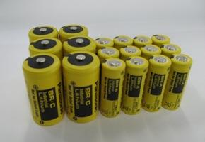 「はやぶさ」の回収カプセルに搭載された電池と同じ、パナソニックのBR系円筒形リチウム一次電池