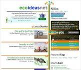 最新のエコアイディアを世界中から集め、共有する場「ecoideasnet」