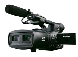 一体型二眼式3Dカメラレコーダー「AG-3DA1」